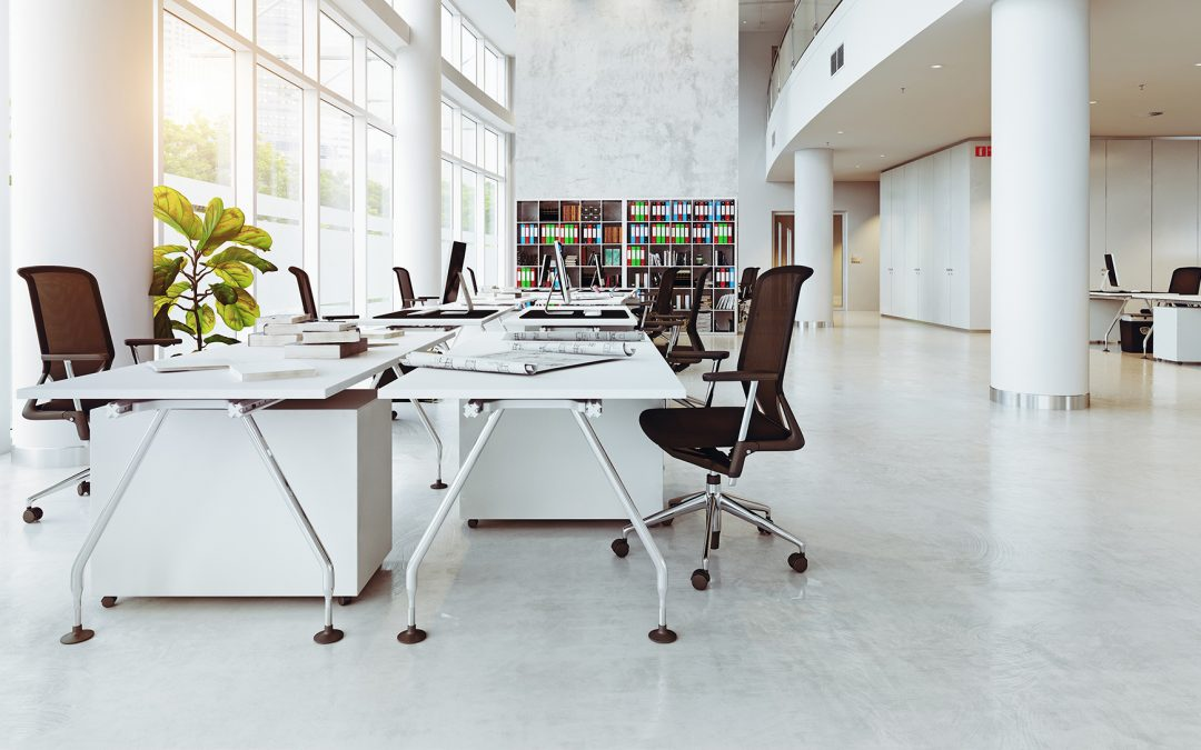 HOW TO CLEAN A COMPANY OFFICE – 7 STEPS